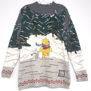 The Disney Store Vintage Winnie The Pooh Sweater